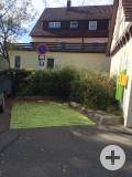 E-Tankstelle für PKW | Rathaus Münsingen