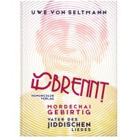 """Cover des Buches """"Mordechai Gebirtig. Vater des jiddischen Liedes"""""""