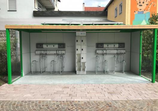 E-Bike Ladestation I ChargerCube Rathausplatz