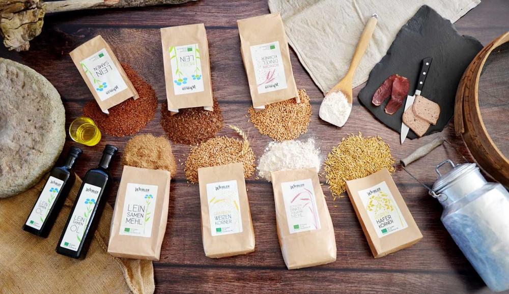 Produkte Weibler Bio-Bauernhof