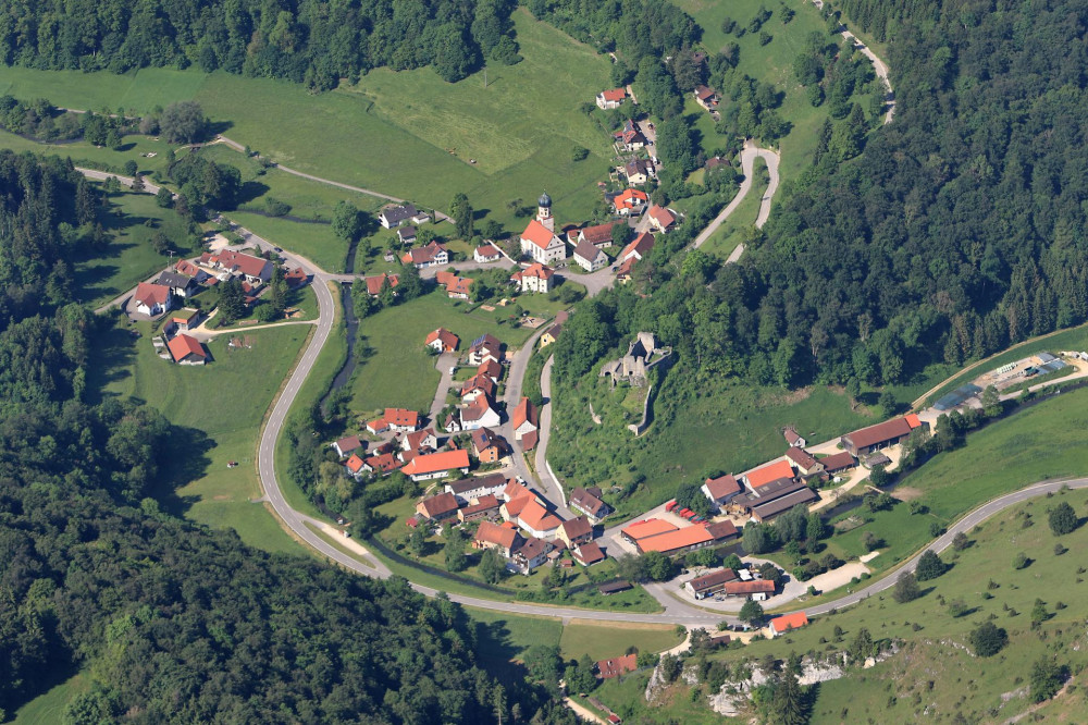 Luftbild Bichishausen