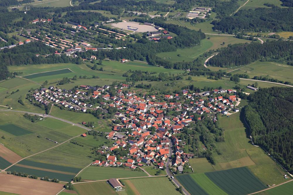 Luftbild Böttingen