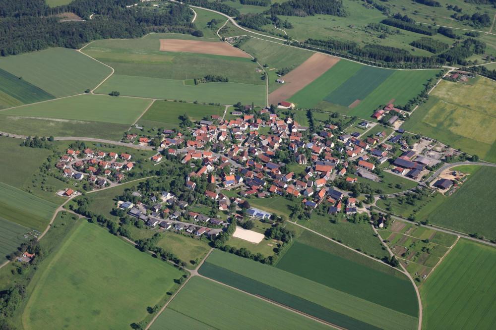 Luftbild Magolsheim