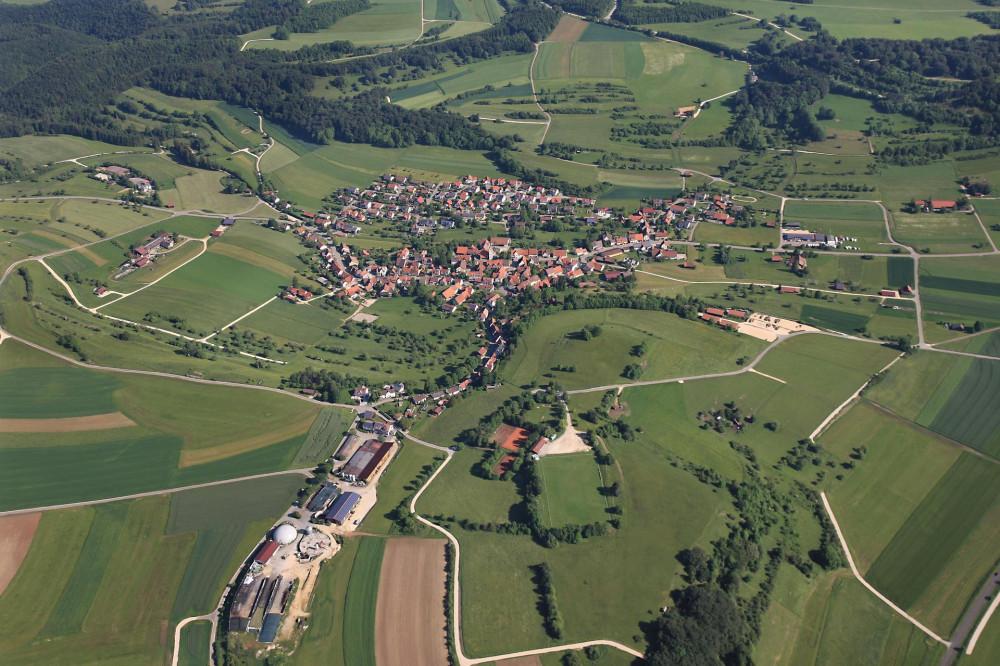 Luftbild Trailfingen